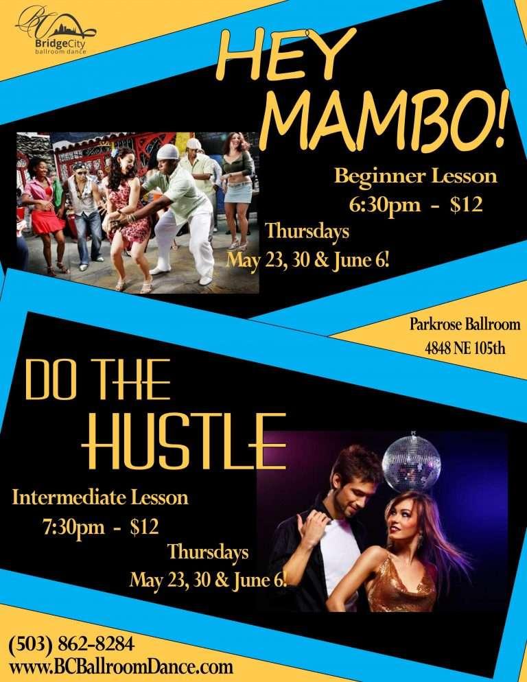Mambo Hustle May 2019